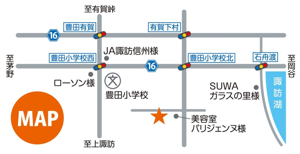 諏訪院地図